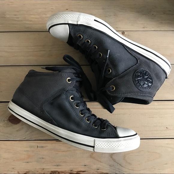 Converse Shoes   Grey Suede Converse